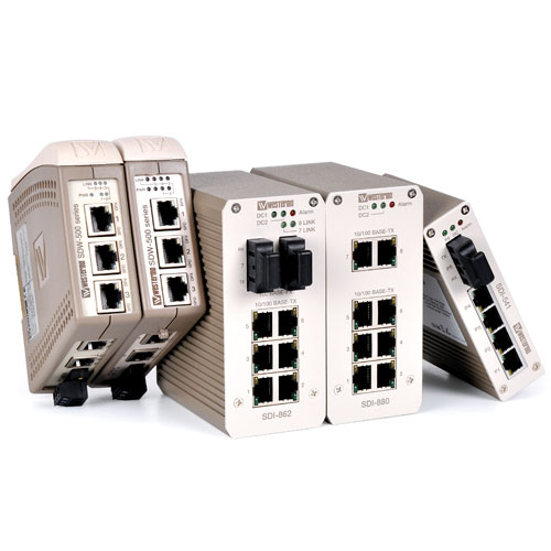 Unmanaged Industrial Ethernet Switches by Westermo.