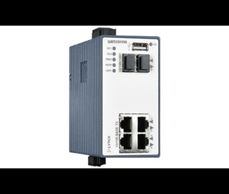 Westermo Lynx Managed Ethernet Switch with Routing Functionality L206-F2G.