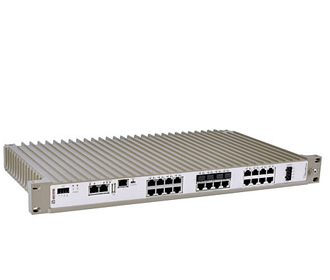 Industrial Rackmount Managed Ethernet  Switch RFIR-127-F4G-T7G-DC by Westermo.