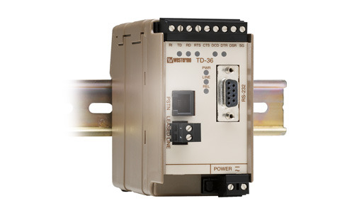 Industrial PSTN and Leased Line Modem Westermo TD-36